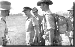 Wavell inspecting Chindits
