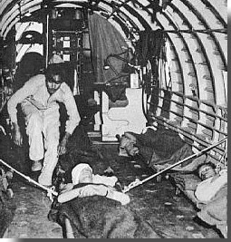 air evacuation of casualties